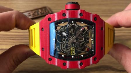 【新品】理查德米勒 RM35-02红色碳纤维