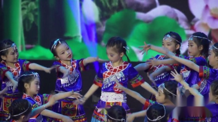 """江西省""""追梦少年""""少儿舞蹈大赛《银铃笙笙》---贝筱贝舞蹈艺术中心"""