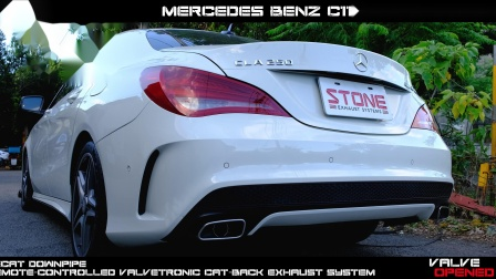 Mercedes Benz C117 M270 CLA 250 / Stone Turbo-back Exhaust System