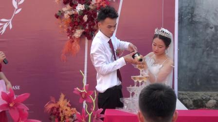 梁盛盛刘乃莹婚礼仪式