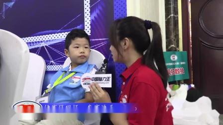 中国脑力王大赛连续两届参赛选手接受采访