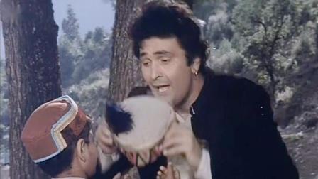 宝莱坞90年代电影《笛声里的爱》男星 Rishi Kapoor 插曲 Bansuri Yeh Bansuri Nahin-Sahibaan