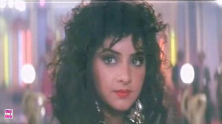 宝莱坞梦幻女神 Divya Bharti 90年代经典电影《心有灵犀》歌舞插曲 Ho Abhi To Hui Jawan