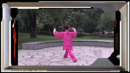 蔡亚芬杨式27式太极拳 《重配乐--后宫》