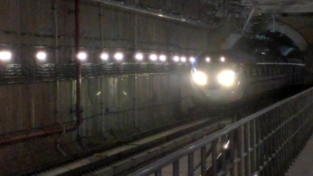 【广州地铁18号线】广州地铁18号线D1型电客车(18x021-022)磨碟沙站正线过站