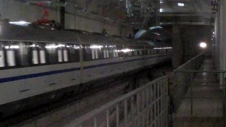 【广州地铁18号线】广州地铁18号线D1型电客车(18x025-026)磨碟沙站正线过站