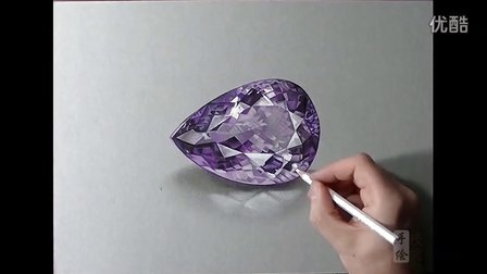 宝石钻石珠宝首饰手绘视频教学
