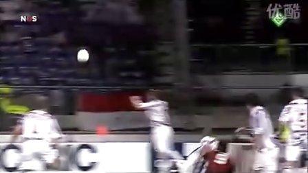 [联盟杯]0809赛季小组赛 海伦芬13AC米兰(因扎吉欧战记录进球 勺子点球) 第一球