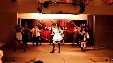 广工艺设艺术团舞蹈队之《开学的第一天》