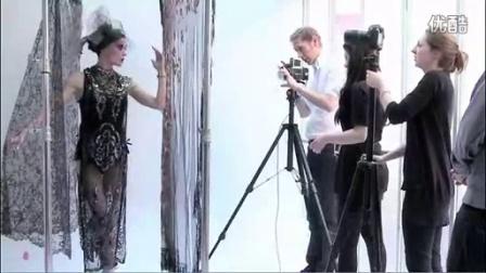 达芙妮·吉尼斯代言罗杰杜彼名伶系列拍摄花絮