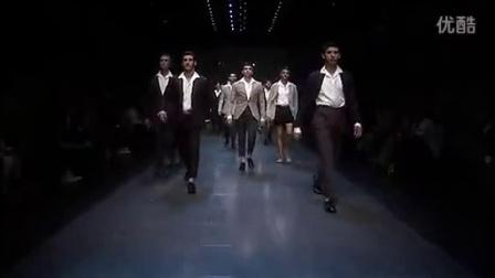 Dolce  Gabbana 2012春夏米兰男装秀