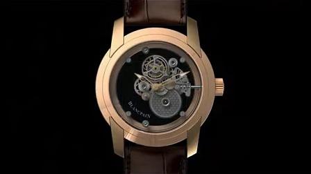 Blancpain 蓝宝石透明卡罗素腕表