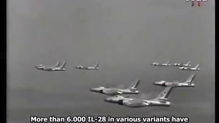 苏联制造(俄语英字)IL-28 战术轰炸机