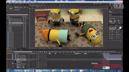 福建师大 小黄人 3D短片 大一新生作品