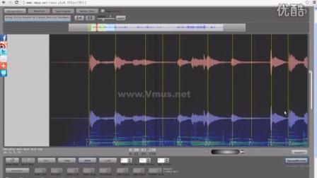 Vmus.net音乐表演可视化在线分析平台使用视频教程