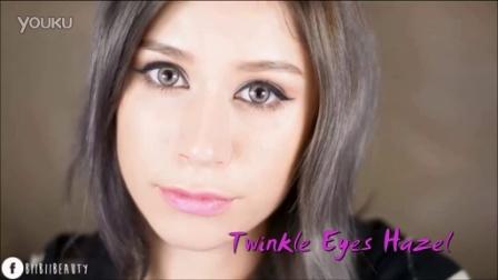 ❤Pinkicon 香港美瞳網❤美瞳示範分享❤Twinkle Eyeys Hazel_BiiBiiBeauty_CIRCLE LENSPinkicon shop