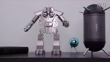 MB&F 酷炫机器人座钟Melchior