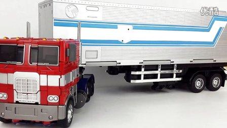 [刘哥模玩空间107]变形金刚威将MPP10/平头擎天柱通用车厢视频分享