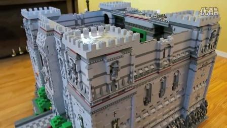 乐高 我的世界 建造的超豪华 齐全 城堡,太有才了