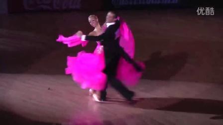 摩登舞决赛很少见五种舞全独舞(西班牙) 2012.11.4 WDSF GS STD Platja D'Aro Final Solo