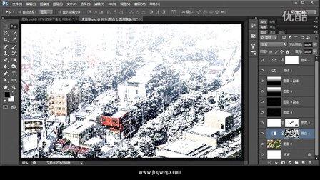 敬伟PS-C03-夏天变雪景