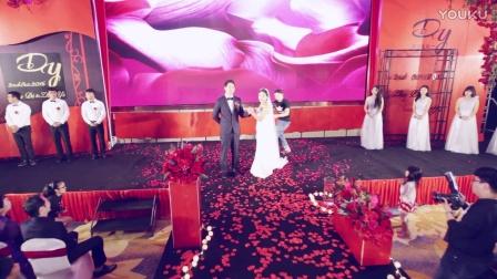 红色黑色婚礼