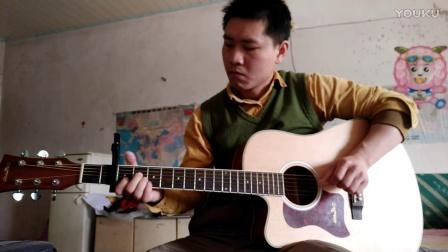 吉它指弹  男儿当自强