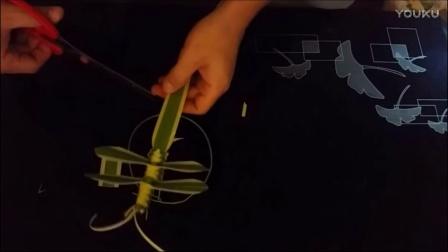 奇思妙想小百科 手工篇 第三集 塑编蜻蜓