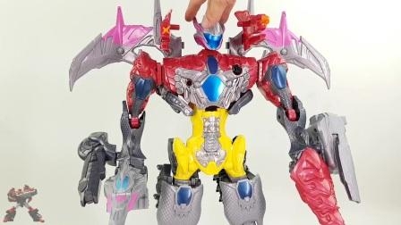 恐龙战队兽连者 美版超凡战队 新款玩具 萨班的力量 强大的马尔五世之战转型 变形玩具 日本玩具 § 垣垣玩具 §