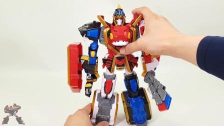 神兽机器人 动物变形金刚 炫酷组合变形金刚 益智玩具 男孩玩具 一起玩 玩法介绍 § 垣垣玩具 §