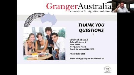 毕业生工作签证介绍 国际在线研讨会