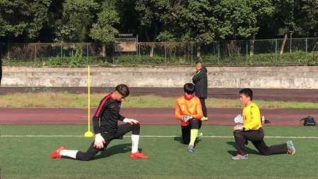 足球守门员热身运动