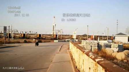 东风8B李港铁路道口