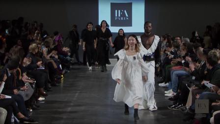 IFA Paris现代时装设计硕士课程-2018年度毕业大秀