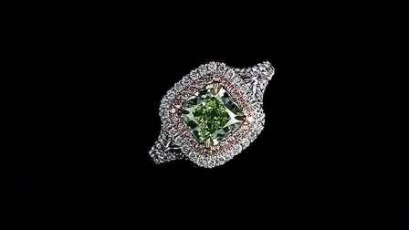 #JCRF05382135# 2.20克拉绿钻戒指