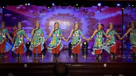 民族舞蹈组合《幸福来》南京老干部局摄影团队录制