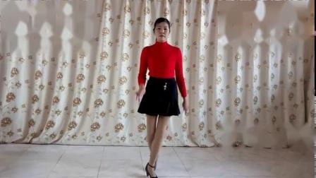 阿文樂樂广场舞自编舞《红山果》
