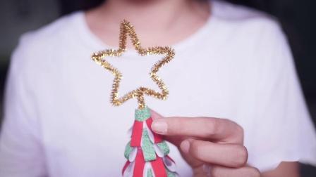 直男手工制作圣诞树送女友  贴心爆表甜爆旁人