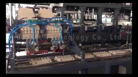 必硕科技——全自动机械化蛋盒贴标机