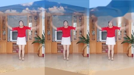 彩虹丹广场舞 红尘雨 网红流行歌曲美舞3人版