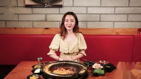 【首尔欧巴TV】柳氏家铁板鸡 建大店