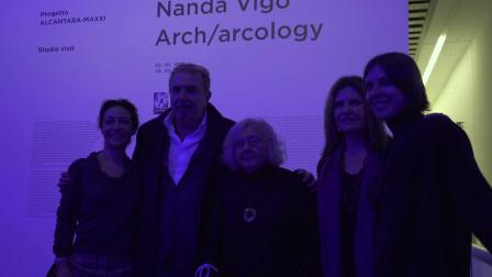 "Nanda Vigo""Arch-arcolog""展览@MAXXI博物馆"