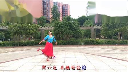梅子广场舞《那一年那一世》