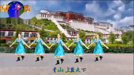 布达拉我来了 编舞 花与影 演绎恬然 汕尾马宫海之蓝健身队