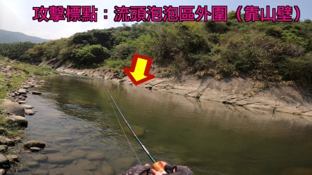 夏天到了!趁着大出水前来个小溪流水表炸裂(路亚/卷仔/台湾/军鱼)