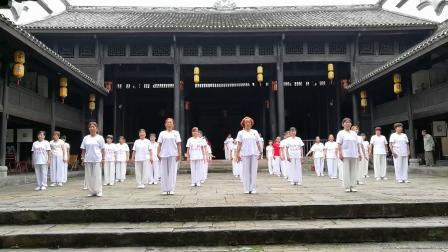 2020东溪古镇万天宫太极拳表演