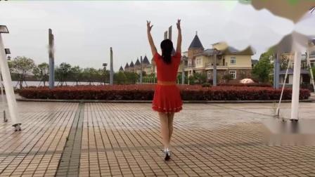 南嘉广场舞《拉萨夜雨》