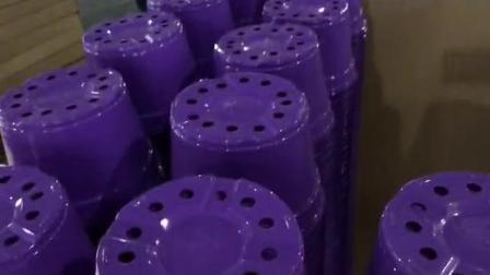 紫黑双色花盆冲孔机