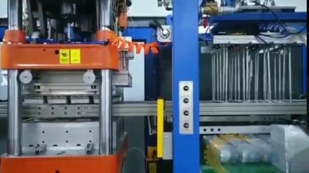 全自动正负压三工位一体机器塑料包装吸塑机