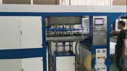 高速机全自动负压真空吸塑机器